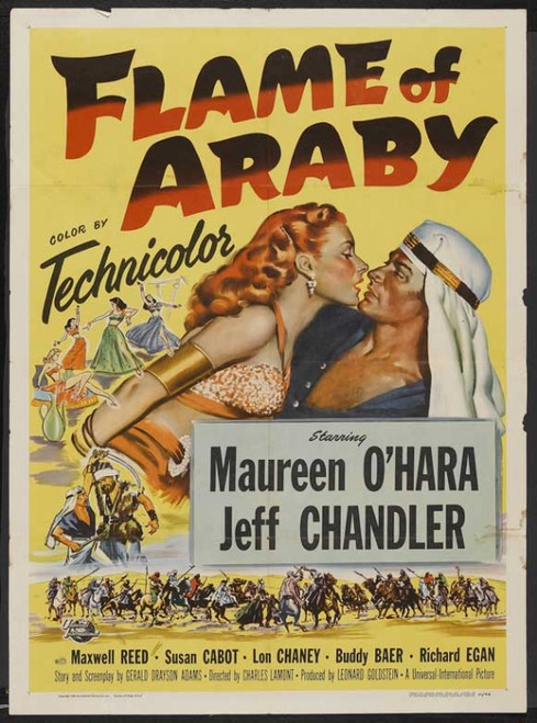 Flame of Araby Movie Poster Print (27 x 40) - Item # MOVCJ0793