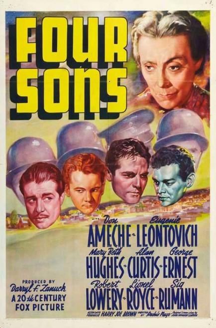 Four Sons Movie Poster Print (27 x 40) - Item # MOVGB09294