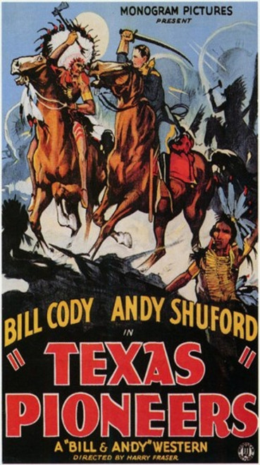 Texas Pioneers Movie Poster (11 x 17) - Item # MOV199862