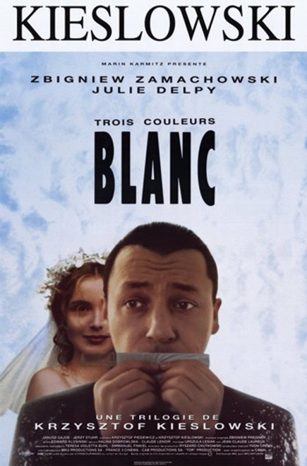 Trois Couleours Blanc Movie Poster (11 x 17) - Item # MOV202572
