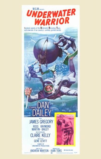 The Underwater Warrior Movie Poster (11 x 17) - Item # MOV259836