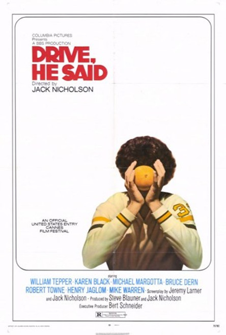 He Said Drive Movie Poster (11 x 17) - Item # MOV255437