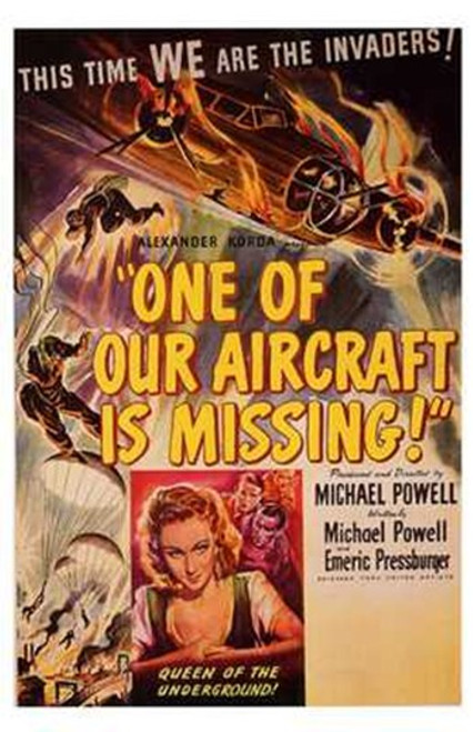 One of Our Aircraft is Missing Movie Poster (11 x 17) - Item # MOV198733