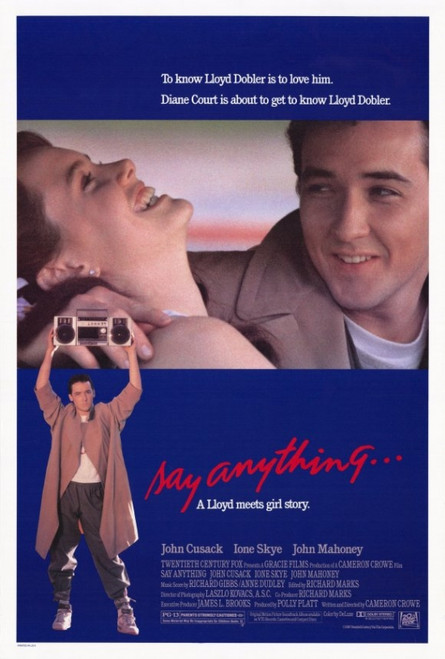 Say Anything Movie Poster Print (27 x 40) - Item # MOVGF8361