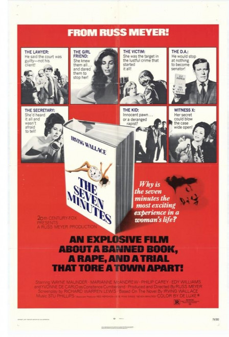 The Seven Minutes Movie Poster Print (27 x 40) - Item # MOVIH6273