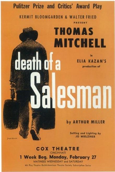 Death Of A Salesman (Broadway) Movie Poster (11 x 17) - Item # MOV407301