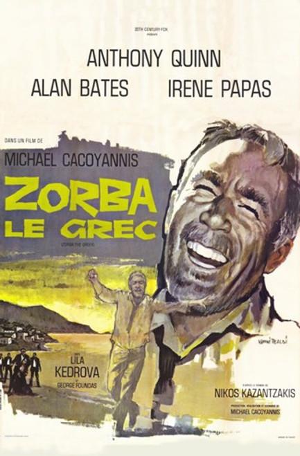 Zorba the Greek Movie Poster (11 x 17) - Item # MOV373912