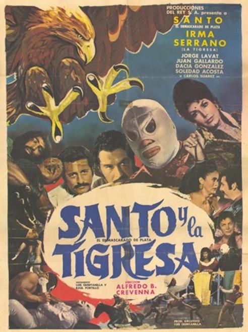 Santo Y El Aguila Real Movie Poster (11 x 17) - Item # MOV227678