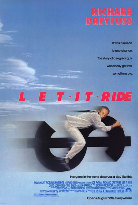 Let It Ride Movie Poster Print (27 x 40) - Item # MOVEF8432