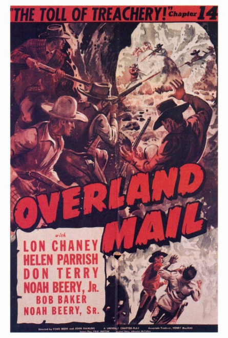 Overland Mail Movie Poster Print (27 x 40) - Item # MOVEF6341