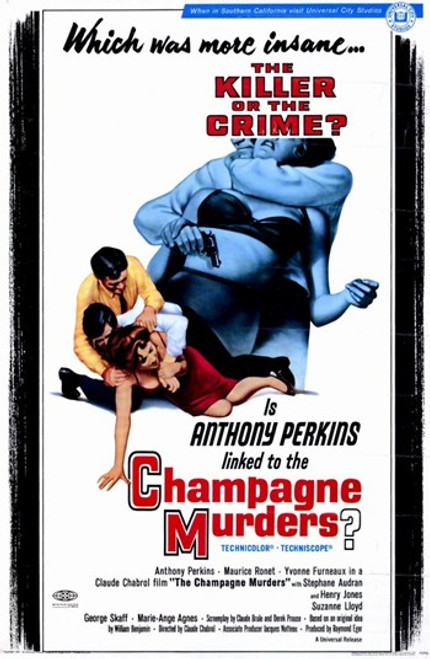 Champagne Murders Movie Poster (11 x 17) - Item # MOV232557