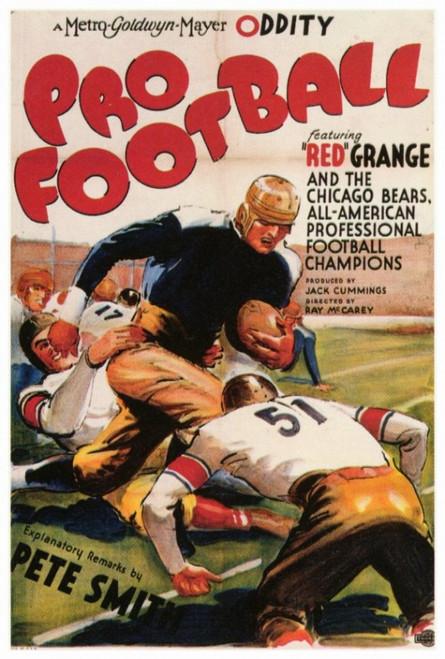 Pro Football Movie Poster Print (27 x 40) - Item # MOVAF0345