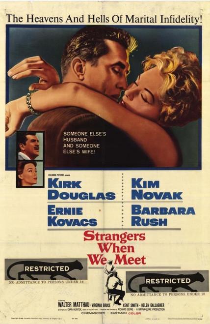 Strangers When We Meet Movie Poster Print (27 x 40) - Item # MOVEH8083