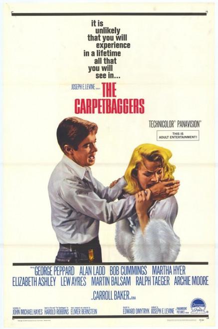 The Carpetbaggers Movie Poster Print (27 x 40) - Item # MOVGH9363