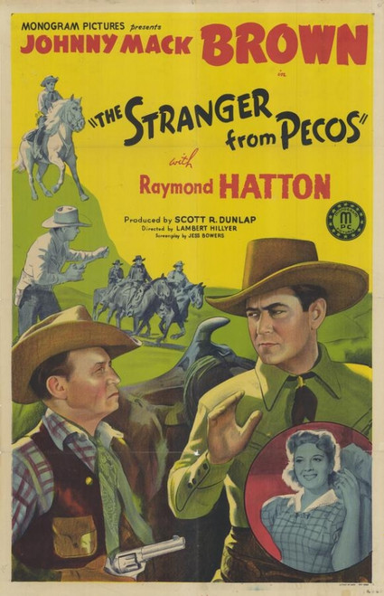 The Stranger From Pecos Movie Poster Print (27 x 40) - Item # MOVAF9864