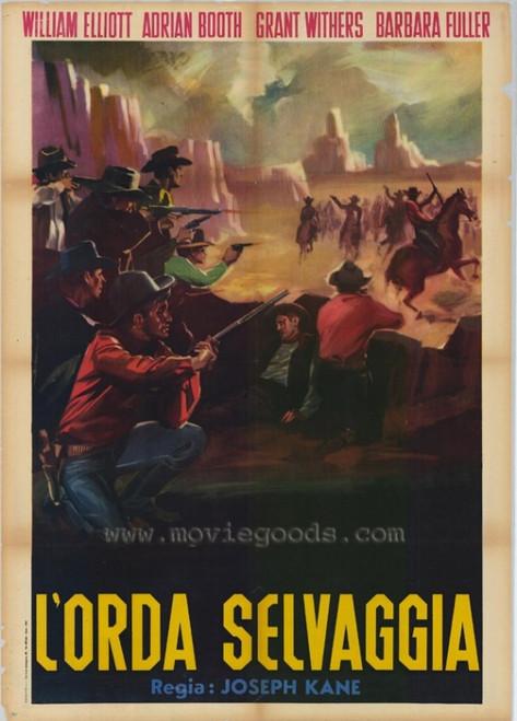 The Savage Horde Movie Poster Print (27 x 40) - Item # MOVEH7645