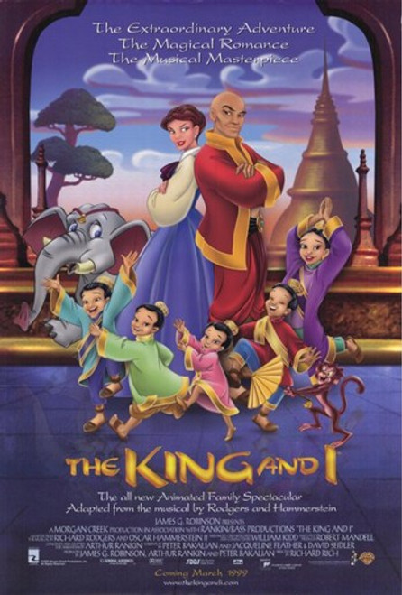The King and I Movie Poster (11 x 17) - Item # MOV204104