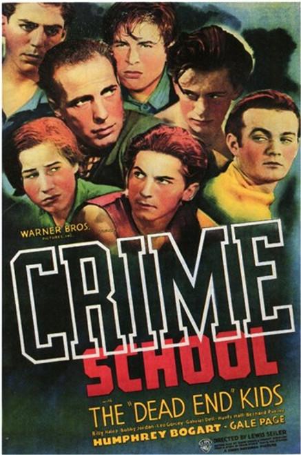 Crime School Movie Poster (11 x 17) - Item # MOV143513