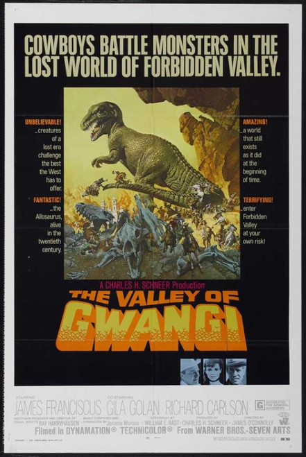 The Valley of Gwangi Movie Poster Print (27 x 40) - Item # MOVCJ2651