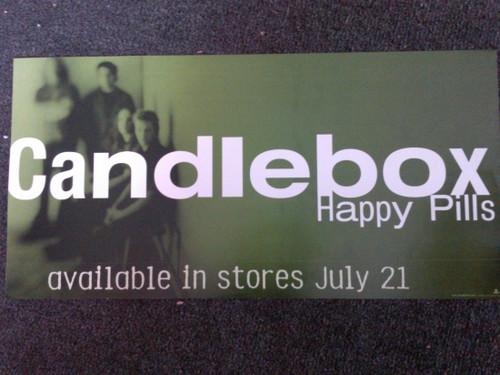 Candlebox Happy Pills Banner Style Poster - Item # RAR99914712