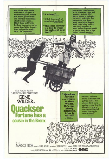 Quackser Fortune Has a Cousin in the Bronx Movie Poster Print (27 x 40) - Item # MOVCH9729