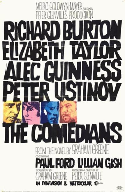 Comedians Movie Poster (11 x 17) - Item # MOV203581