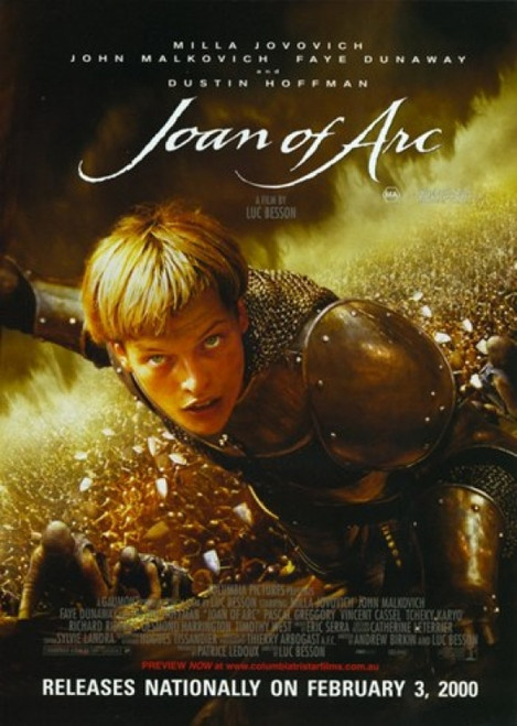 Messenger The Story of Joan of Arc Movie Poster (11 x 17) - Item # MOV297597