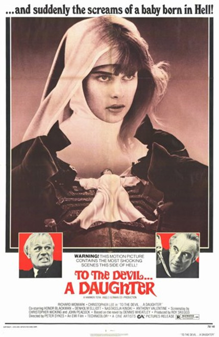 to the Devil a Daughter Movie Poster (11 x 17) - Item # MOV193446