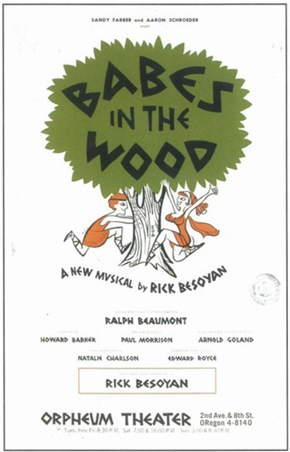 Babes In the Wood (Broadway) Movie Poster (11 x 17) - Item # MOV409223