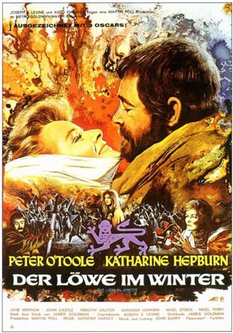 Lion in Winter Movie Poster (11 x 17) - Item # MOV212021