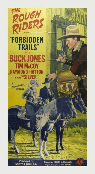 Forbidden Trails Movie Poster Print (27 x 40) - Item # MOVCB97580