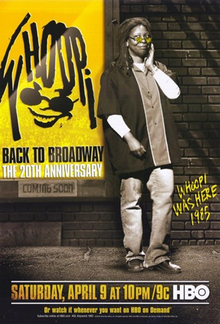 Whoopi Back to Broadway - The 20th Anniversary Movie Poster (11 x 17) - Item # MOV275126
