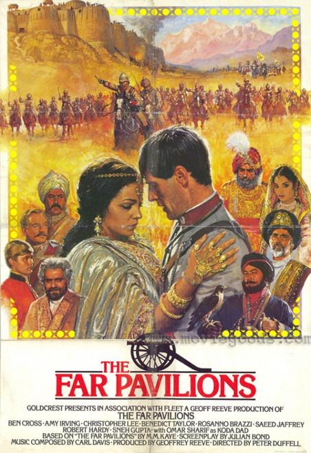 The Far Pavilions Movie Poster Print (27 x 40) - Item # MOVIF7329