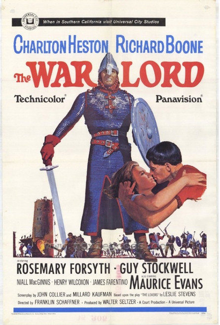 The War Lord Movie Poster Print (27 x 40) - Item # MOVAH7236
