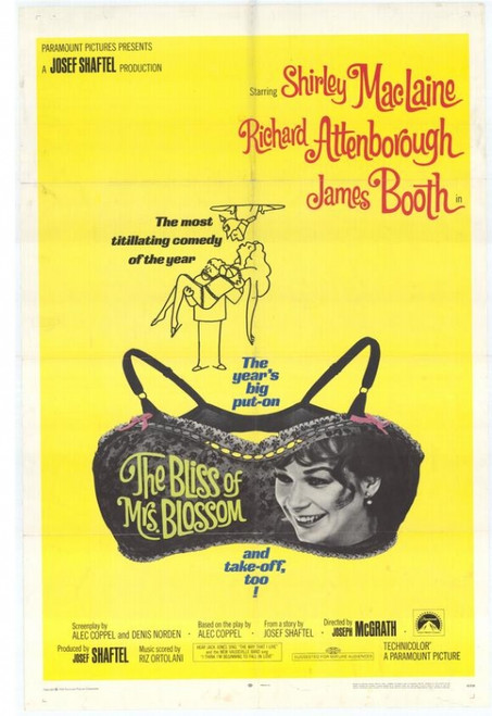 The Bliss of Mrs. Blossom Movie Poster Print (27 x 40) - Item # MOVEH3274
