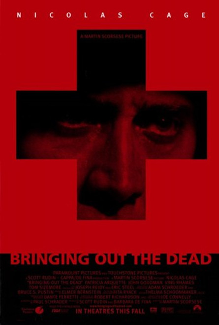 Bringing Out the Dead Movie Poster (11 x 17) - Item # MOV209185