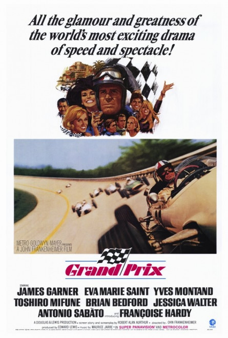 Grand Prix Movie Poster Print (27 x 40) - Item # MOVEF5180