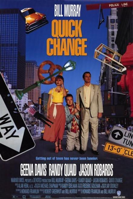 Quick Change Movie Poster (11 x 17) - Item # MOV204670