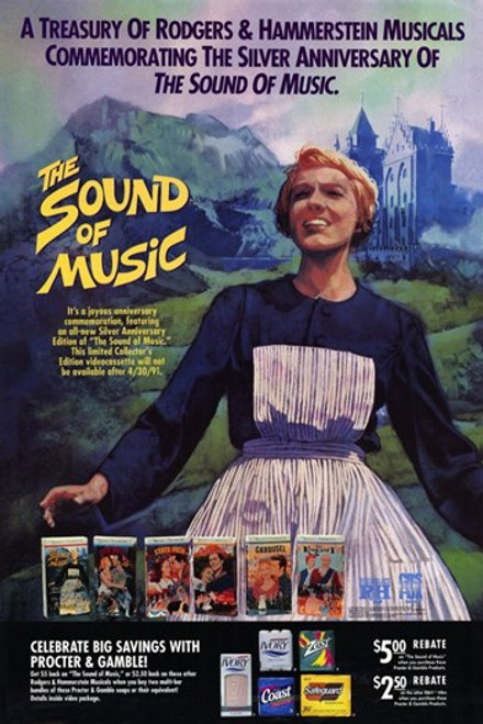 The Sound of Music Movie Poster (11 x 17) - Item # MOV230749