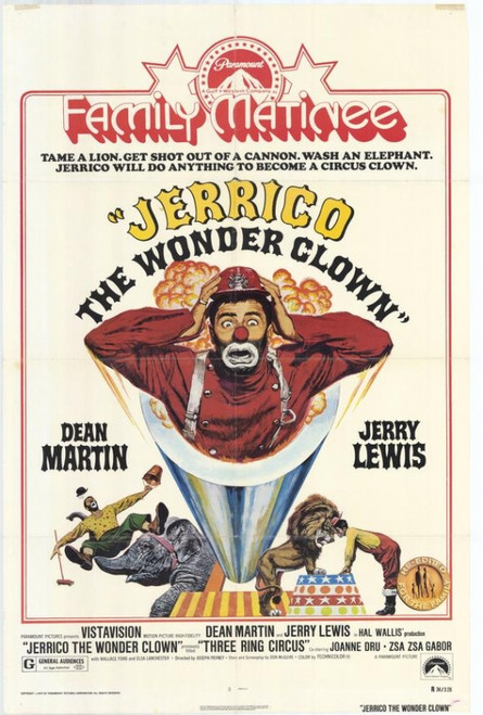 Jerrico the Wonder Clown Movie Poster Print (27 x 40) - Item # MOVIH0319