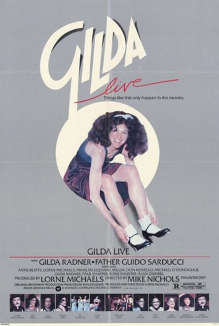 Gilda Live Movie Poster (11 x 17) - Item # MOV248622