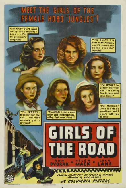 Girls of the Road Movie Poster Print (27 x 40) - Item # MOVGB59194