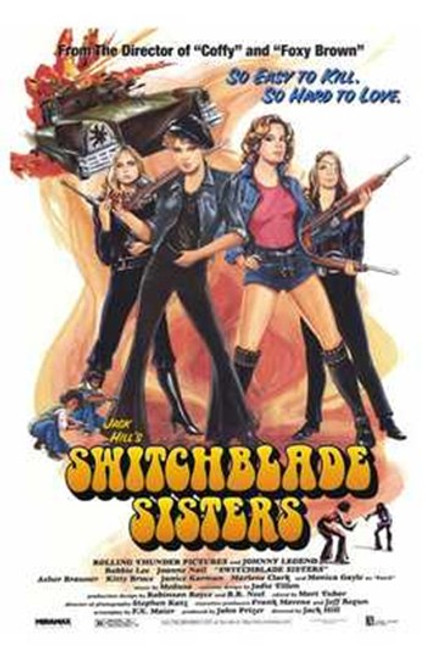 The Switchblade Sisters Movie Poster (11 x 17) - Item # MOV209237