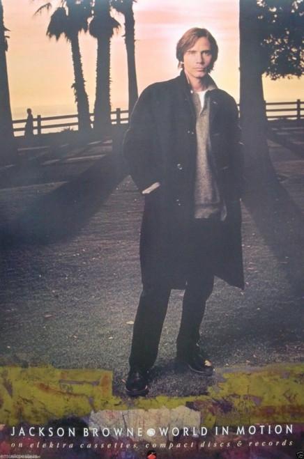 Jackson Browne World in Motion Poster - Item # RAR9998424