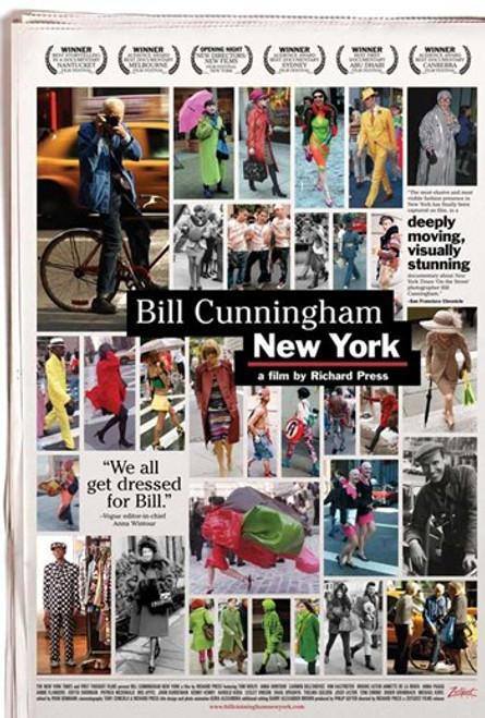 Bill Cunningham New York Movie Poster (11 x 17) - Item # MOVGB38563