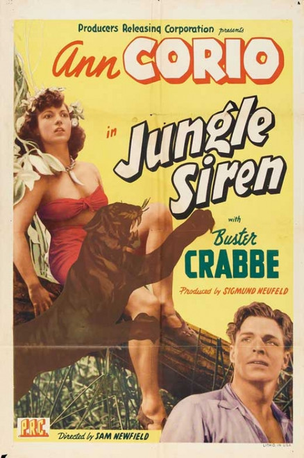 Jungle Siren Movie Poster Print (27 x 40) - Item # MOVEB02043