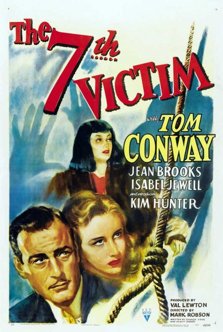The Seventh Victim Movie Poster Print (27 x 40) - Item # MOVIJ3166