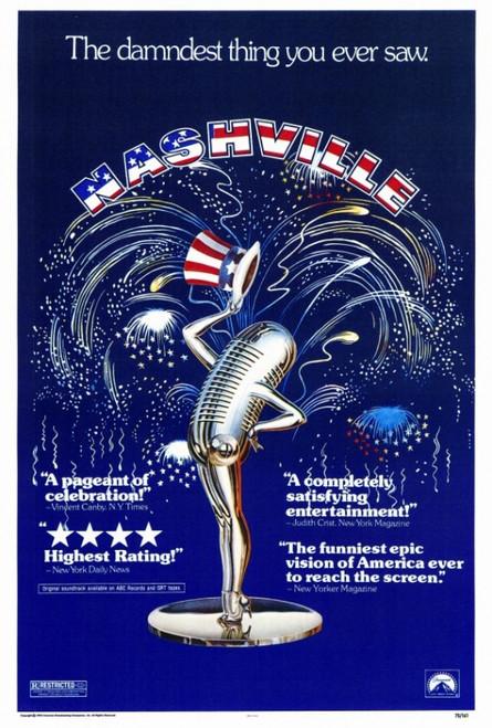 Nashville Movie Poster Print (27 x 40) - Item # MOVIF8183