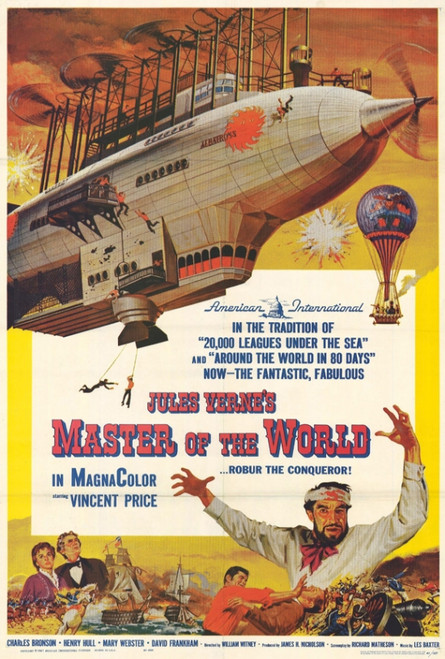 Master of the World Movie Poster Print (27 x 40) - Item # MOVAF5431
