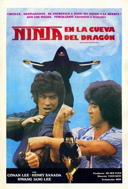 Ninja in the Dragon's Den Movie Poster (11 x 17) - Item # MOV227965
